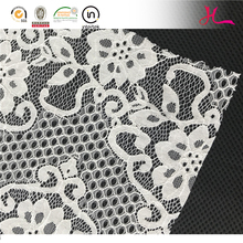 S724 The new korean cotton nylon hollow out cord tulle lace fabric for dress material