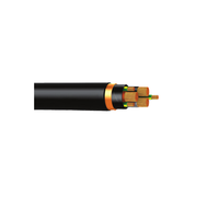 0.6 / 1 KV 3 Core 3 Earth Low Voltage Cable To IEC60502