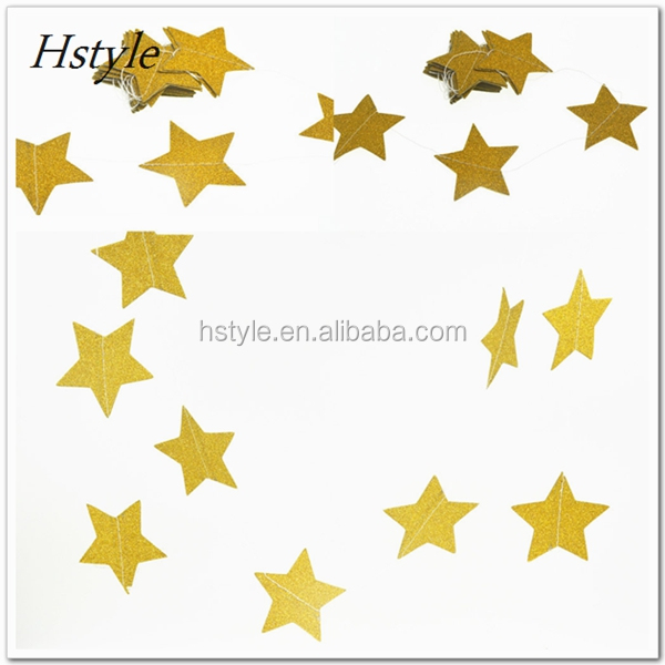 Double Side Star Paper Star Hanging Garlands Tree Home Decor Christmas Birthday Wedding Party Decorations SGG110