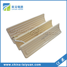 Ceramic heating element for paint drying