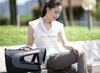 Airline under-seat foldable pet bag pet carrier