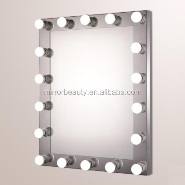Ultimo 2015 hollywood specchio per il trucco con luci a led per salone di bellezza specchio del - Specchio per trucco con luci ...