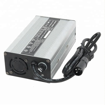 Factory Direct Sale 43.8V 2A LiFePO4 battery charger for 12S 38.4V battery pack