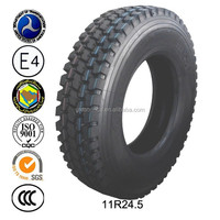 New Radial Truck Size 11r 22.5 11r 24.5 truck tires for sale with DOT,GCC,REACH,EU-LABLE,ECE approved