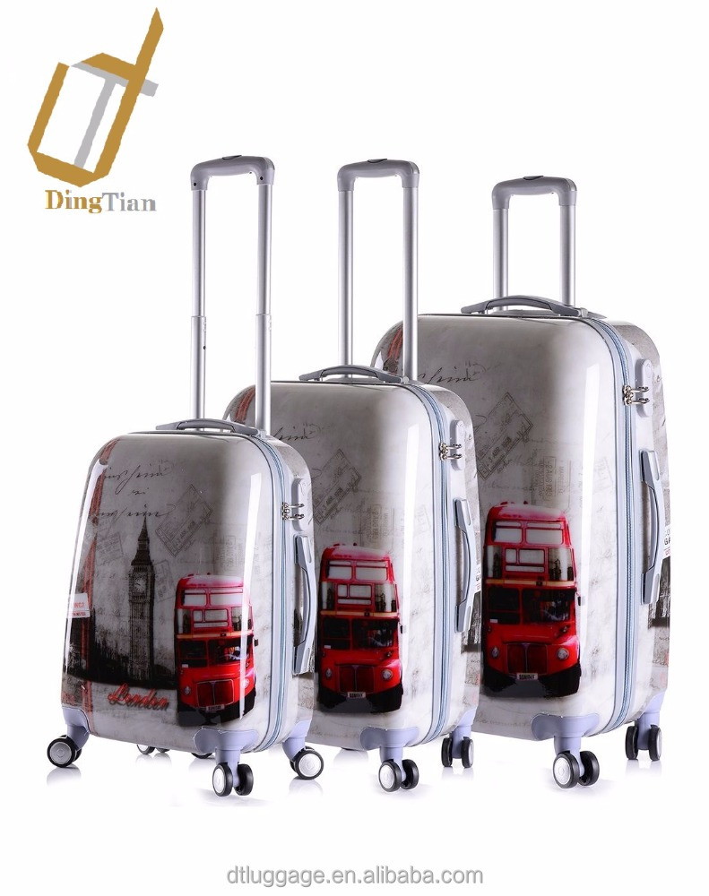 Personalized Printing 3 Piece Luggage Set