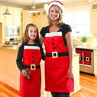 Christmas decorations commodities apron and family's party thing
