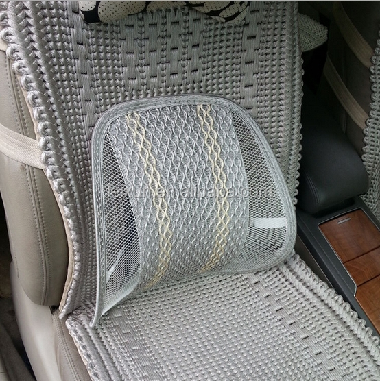 simple design machine knitted car and chair mesh cushion seat back support