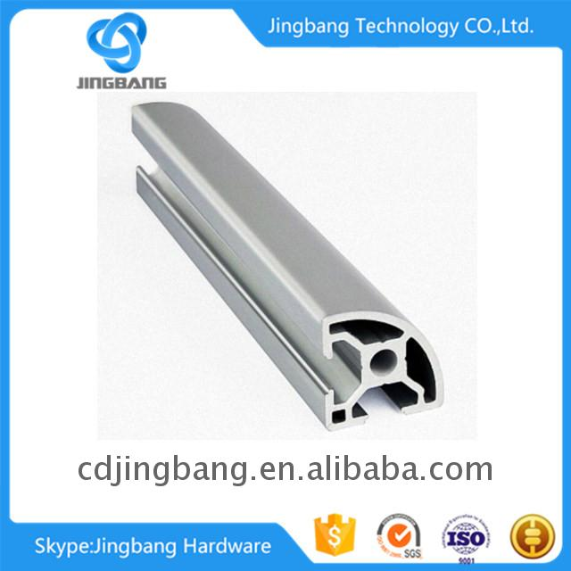 China best aluminum+extrusion+profile+2040 for industrail automation line