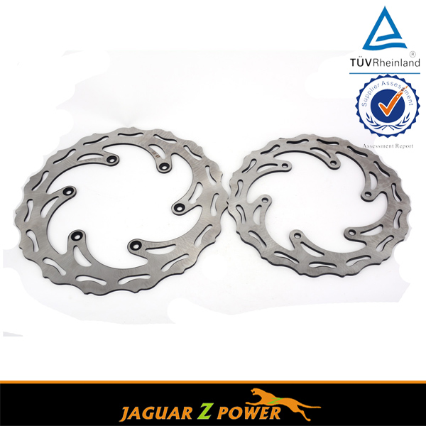 Front & Rear Brake Disc Rotor For Husaberg All Models 00-08 Motorcycle Dirt Bike