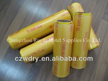 packaging pvc cling film food grade