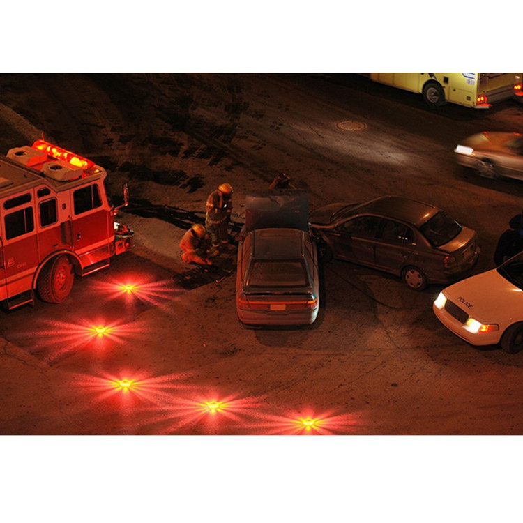 High quality Super bright Emergency 15 LED Road Flares with powerful magnet