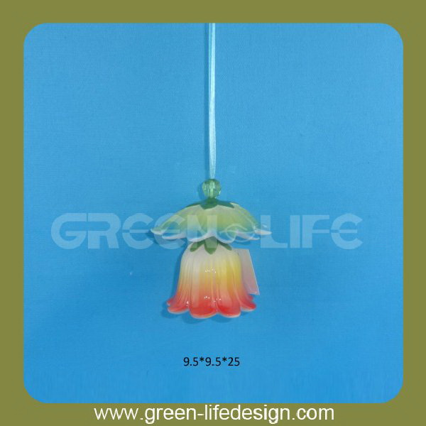 Color glazed wind chime supplies