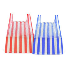 T-Shirt Plastic Bag OEM Custom ImPrinted Plastic Shopping Inventory Bag