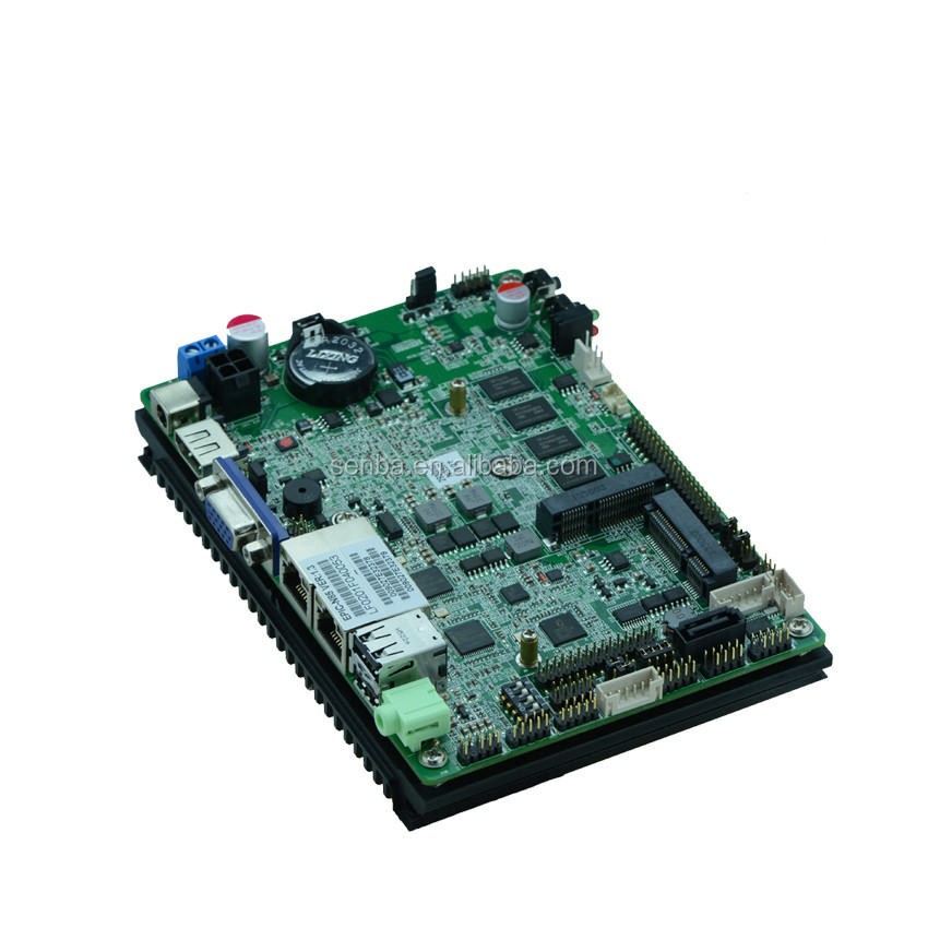 X86 embedded mini motherboard onboard sim card slot for 3G LTE 4G wifi