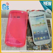 Durable Wave S Line Cover Case For Samsung Galaxy Trend II Duos S7572 7570