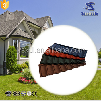 Terracotta Stone Coated Roof Tiles / concrete roof tile mould / Black Corrugated Roofing Sheet