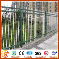 Top selling wrought iron fence Ornamental wrought iron fence parts