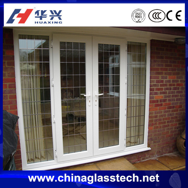 Size customized sound insulation Heatproof pvc u door