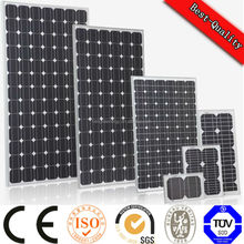 thin film amorphous silicon Photovoltaic solar panel with TUV UL CE IEC CEC certified