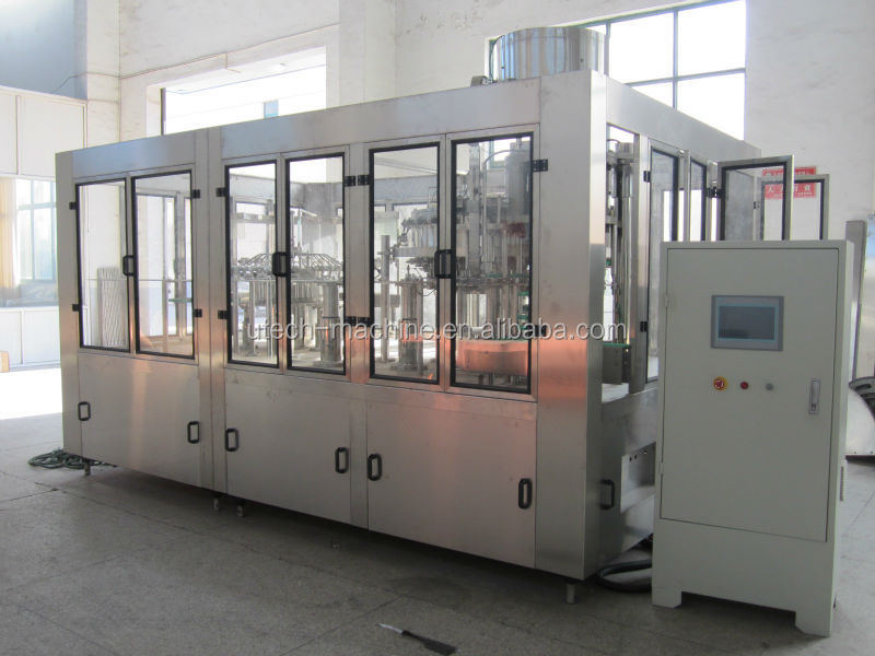 3-in-1 Monobloc Non Alcoholic Malt Beverage Bottling Factory/Workshop Line