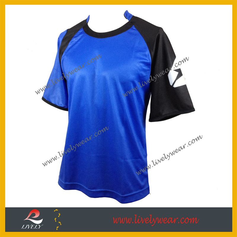Lively-- Wholesale 3D Digital Sublimation Printing Running Gym Sport T- Shirt