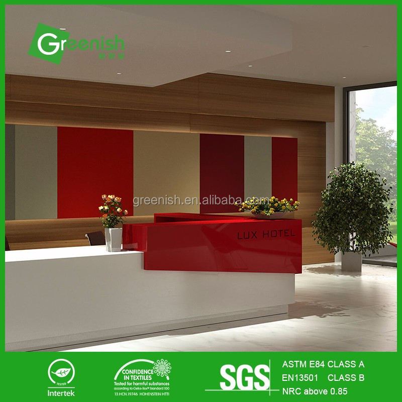 High quality thermal insulation qrd diffuser acoustic panel