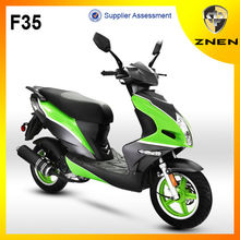 2017 famous scooter Chinese manufacturer F35 with high quality ,store gas moped scooter