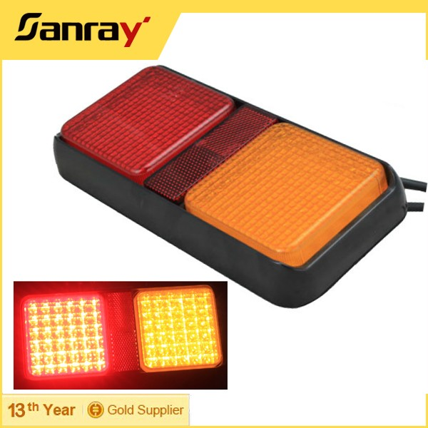 Best sell 2.5W waterproof IP67 <strong>led</strong> side marker light <strong>led</strong> truck marker lamp tail lamps truck trailer turn light