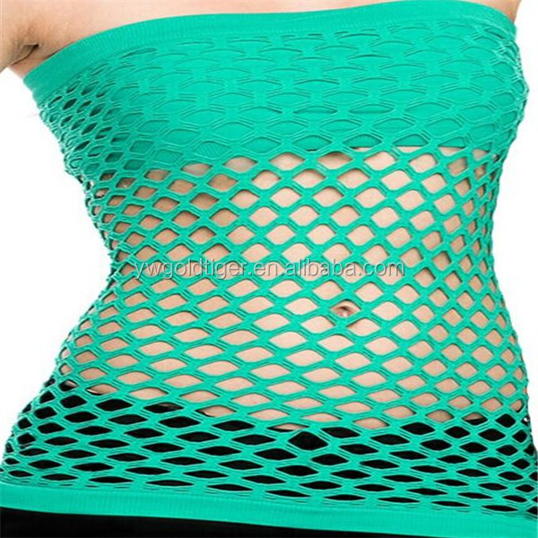 Fishnet ladie's Seamless Tube Top One Size-5