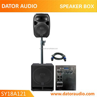 portable pa combo speaker system with one 18 inch super subwoofer speaker combo system