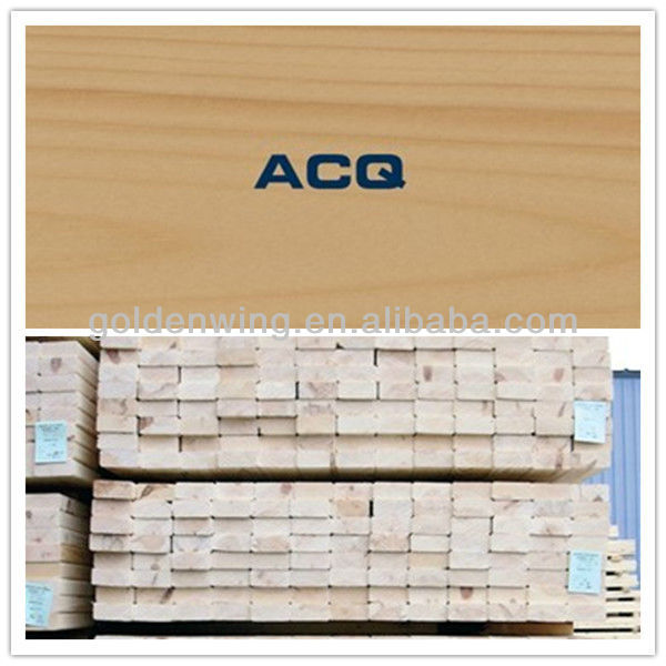 Alkaline Copper Quaternary ACQ Instead of CCA Wood Preservative Timber Preservative