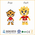 Evergrande Group Customize soft plush tiger toy