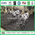 China safety cow horse barn stall rubber flooring /horse trailer rubber stable mats