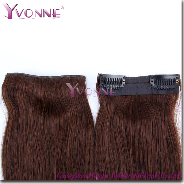 Hot Selling Indian 4A Remy Clip In Hair Extension