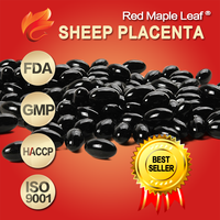 1000mg Best Lamb Placenta Extract Supplement Soft Gels