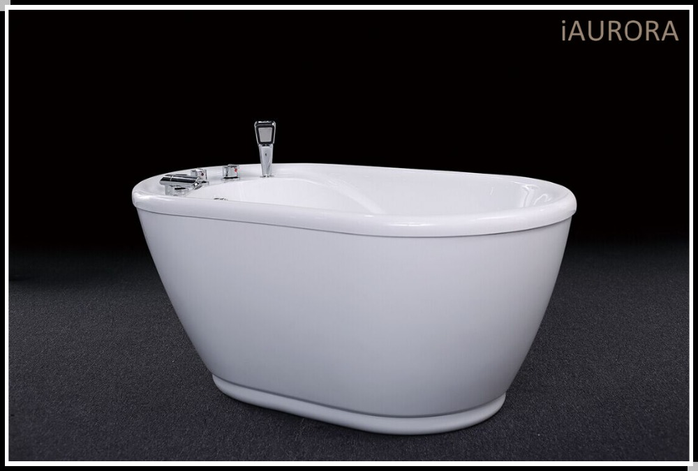 iaurora very small freestanding acrylic baby bathtub with seat buy