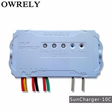 solar energy products of controller,owrely SC-10C,12/24V, solar charge controller,PWM