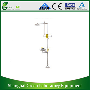Emergent Shower,Laboratory equipment,lab emergency shower