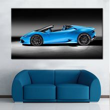 Wholesale Pop Modern Printed Picture Single Panel Car Art Decorative Wall Oil Paintings On Canvas