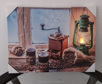 CE Ceritificated 2015 lastest still life famous artists with led lights factory wholesale