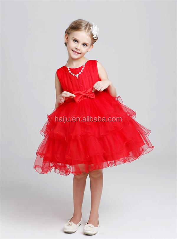 new style Girl party wear western dress baby girl party dress children frocks designs one piece party girls dresses