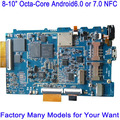 Cheap Factory 8inch 10inch MTK6753 Android 6.0 or Android 7.0 OS 4G GPS NFC Octa Core Android Industrial Motherboard