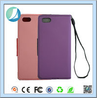 New Arrival Fashion flip tpu pu leather case for iphone 5c