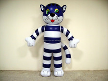 Inflatable Cat,inflatable blue cat,inflatable cartoon animal toys for advertising