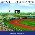 led sports playground display screen boards P16 /led stadium perimeter billboard display