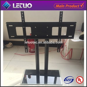 Shenzhen tv mount with shelf lcd bracket flat to wall tv bracket