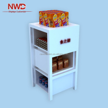 MDF baking painting display stand bakery display showcases cabinet for food store