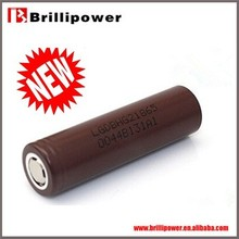 Best selling high power bicycles battery original Lg 18650 high quality hg2 3000mah battery brillipower battery