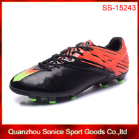 2016 new style brand name soccer cleats for man(with logo)