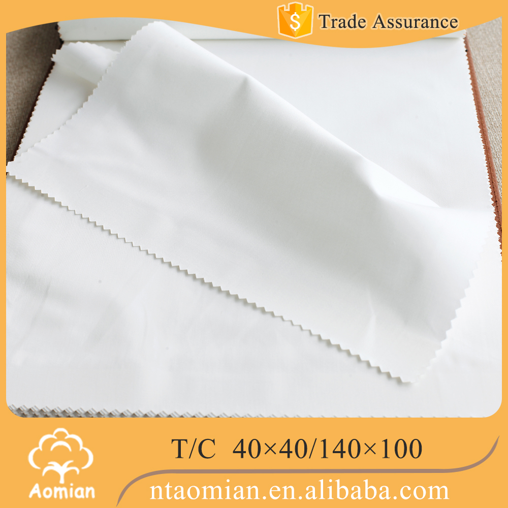 cheap price poly cotton twill satin fabric to making bed sheets